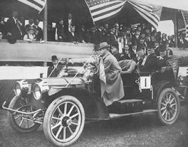 President William Taft in  Columbia on November 6, 1909
