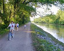 Bicycle/walk/jog/fish - All in Downtown Columbia!