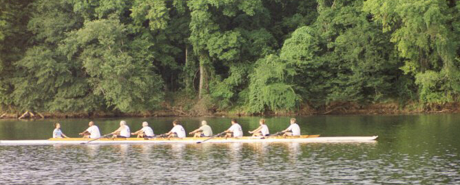 Rowing on the Broad River